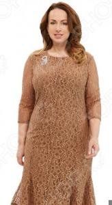 Платье Pretty Woman «Королева Англии». Цвет: золотистый
