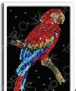Мозаика из пайеток Волшебная мастерская «Попугай какаду»