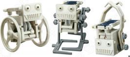 Конструктор для мальчика 4M «Солнечные мини роботы. 3 в 1»