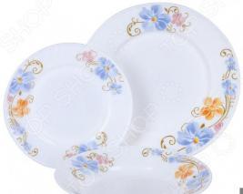 Набор столовой посуды Rosenberg RGC-100102, 18 предметов