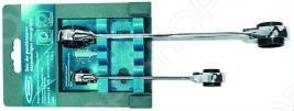 Набор ключей накидных многоразмерных с трещоткой GROSS