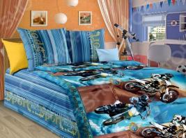 Детский комплект постельного белья Бамбино «Драйв»