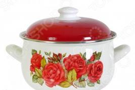 Кастрюля Interos 15869 «Розы»
