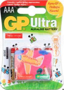 Элемент питания GP Batteries 24AUGL-2CR4 «Подари жизнь». В ассортименте