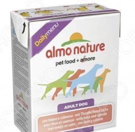 Корм консервированный для собак Almo Nature DailyMenu Adult with Tuna and Salmon