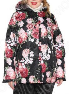 Куртка Лауме-Лайн «Цветочное настроение». Цвет: черный