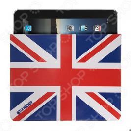 Чехол для iPad Mitya Veselkov «Британский флаг»