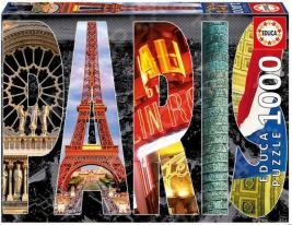 Пазл 1000 элементов Educa «Париж»