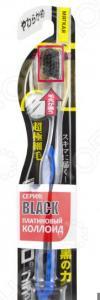 Зубная щетка DENTALPRO Black Compact Head. Жесткость: мягкая (soft). В ассортименте