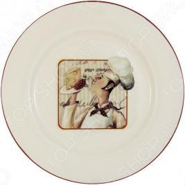 Тарелка обеденная Terracotta «Шеф-повар»