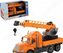 Машинка игрушечная POLESIE «Майк. Кран с поворотной платформой»