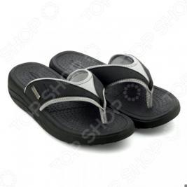 Сланцы мужские Walkmaxx Flip Flop. Цвет: черный