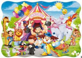 Пазл 30 элементов Castorland «Цирк»