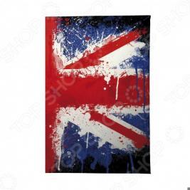 Обложка для автодокументов Mitya Veselkov «Британский флаг в краске»