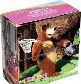 Кубики Step Puzzle «Маша и Медведь» 87132