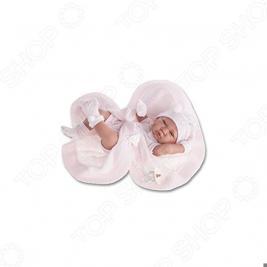 Кукла-младенец Munecas Antonio Juan «Тони в розовом»