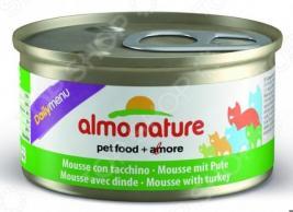 Корм консервированный для кошек Almo Nature DailyMenu Mousse with Turkey