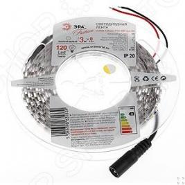 Лента светодиодная Эра LS3528-120LED-IP20-WW-eco-3m