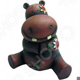 Фигурка садовая GREEN APPLE GA200-18 «Бегемотик»