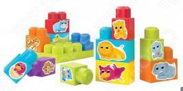 Конструктор для малышей Mega Bloks «Обучающий кубик»