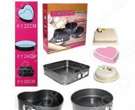 Набор форм для выпечки фигурных Ricotio Cake Mould