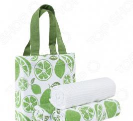Набор полотенец и сумка Guten Morgen «Мохито»