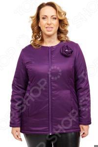 Куртка СВМ-ПРИНТ «Тонкий вкус». Цвет: фиолетовый