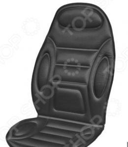 Накидка на сиденье с подогревом и терморегулятором SKYWAY «Полоски и овалы»