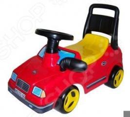 Машина-каталка с гудком POLESIE «Вихрь»