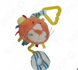 Игрушка-погремушка мягкая Coool Toys «Львенок»