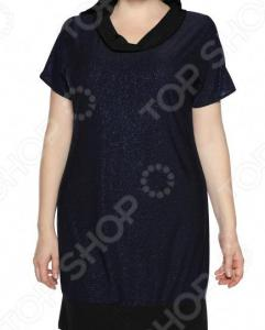 Платье-туника «Алмазная россыпь». Цвет: синий
