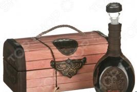 Набор подарочный «Дачнику»: сундук и графин 352-253