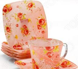 Чайный сервиз Loraine LR-26669 «Розовый сад»