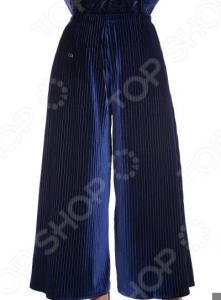 Юбка-брюки Pretty Woman «Бархатный выход». Цвет: синий