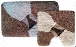 Комплект ковриков для ванной и туалета «Дебора»