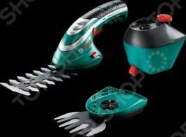 Ножницы для травы и кустов с насадкой распылителем Bosch ISIO 3