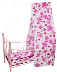 Кроватка для кукол Shantou Gepai с балдахином PH944