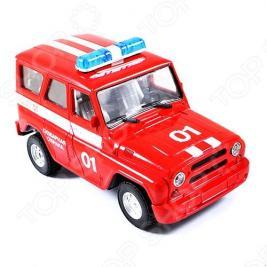 Машина инерционная Joy Toy «УАЗ Hunter - Пожарная» Р40512