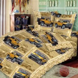 Детский комплект постельного белья ТексДизайн «Сафари». 1,5-спальный