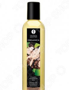 Масло массажное возбуждающее Shunga Organica «Пьянящий шоколад»
