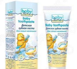 Паста зубная для детей BABYLINE «Банан»