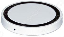 Аккумулятор для смартфонов беспроводной круглый Bradex с Lightning разъемом
