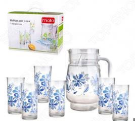 Набор: кувшин и 6 стаканов Miolla 2009010U