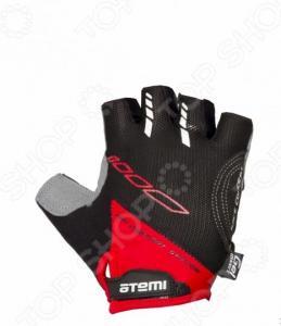 Перчатки велосипедные вентилируемые Atemi AGC-04. Цвет: красный