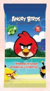 Набор салфеток влажных детских Авангард AB-48739 Angry Birds