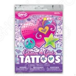 Татуировки временные Savvi для девочек. В ассортименте