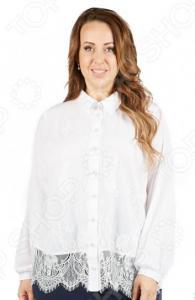 Блуза Wisell «Белоснежная улыбка»