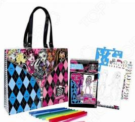 Набор с портфолио в сумке Fashion Angels «Школа монстров» 64012