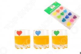Маркеры для стаканов Elan Gallery «Сердечки»