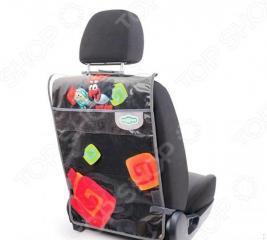 Защита для автомобильного кресла от детских ножек Autoprofi «Смешарики. Пин»